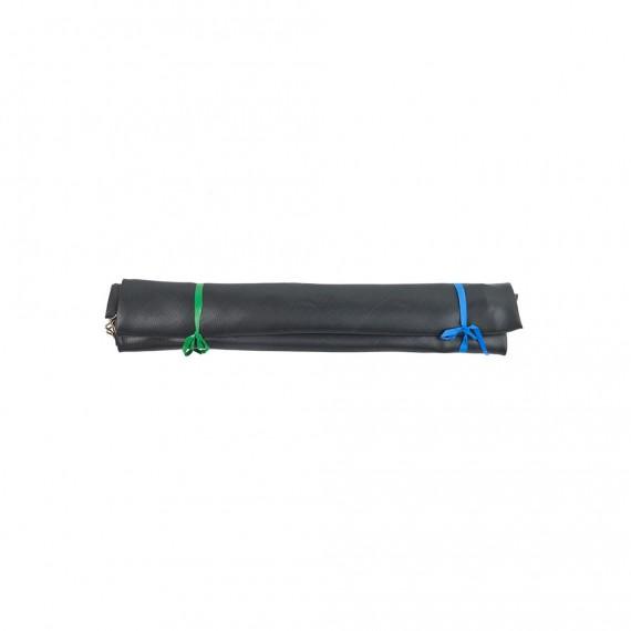 Toile de saut pour trampoline 430 à 96 ressorts argentés 230mm