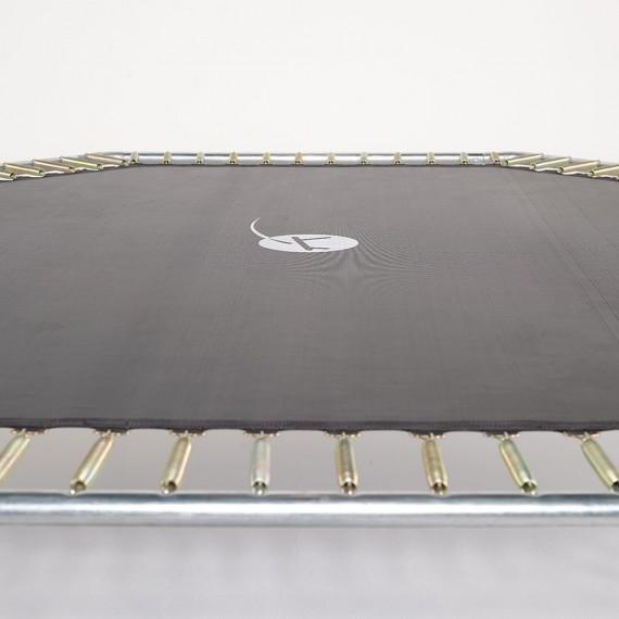 Toile de saut pour trampoline Waouuh 460 à 112 ressorts argentés 230mm