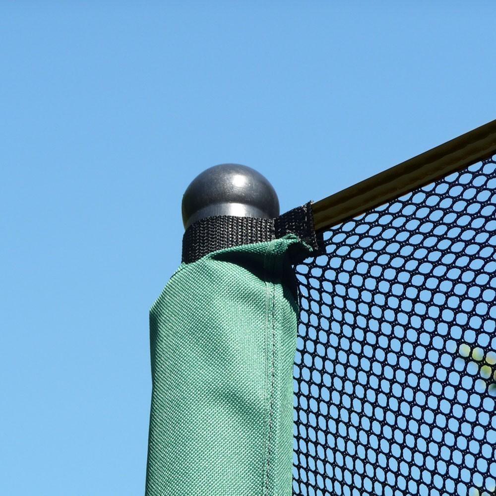 filet textile avec sangle pour trampoline rond 2 50 m. Black Bedroom Furniture Sets. Home Design Ideas