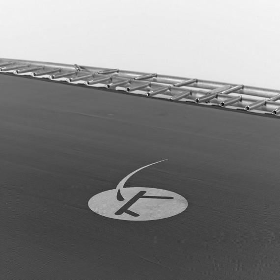 Toile de saut pour trampoline Apollo Sport 500 à 116 ressorts argentés 230 mm
