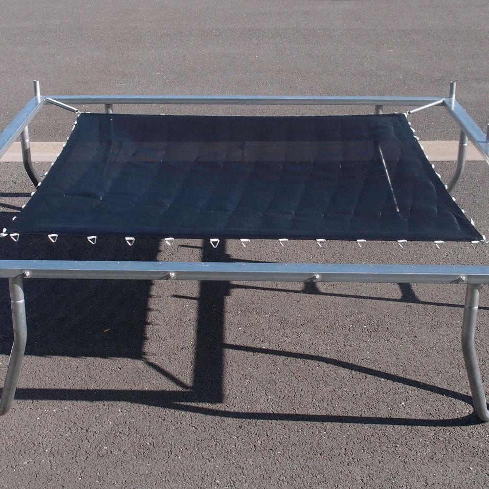 toile pour trampoline a ro 265 x 265 et trampoline pro one 265. Black Bedroom Furniture Sets. Home Design Ideas