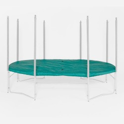 Housse Premium pour trampoline Ovalie 490