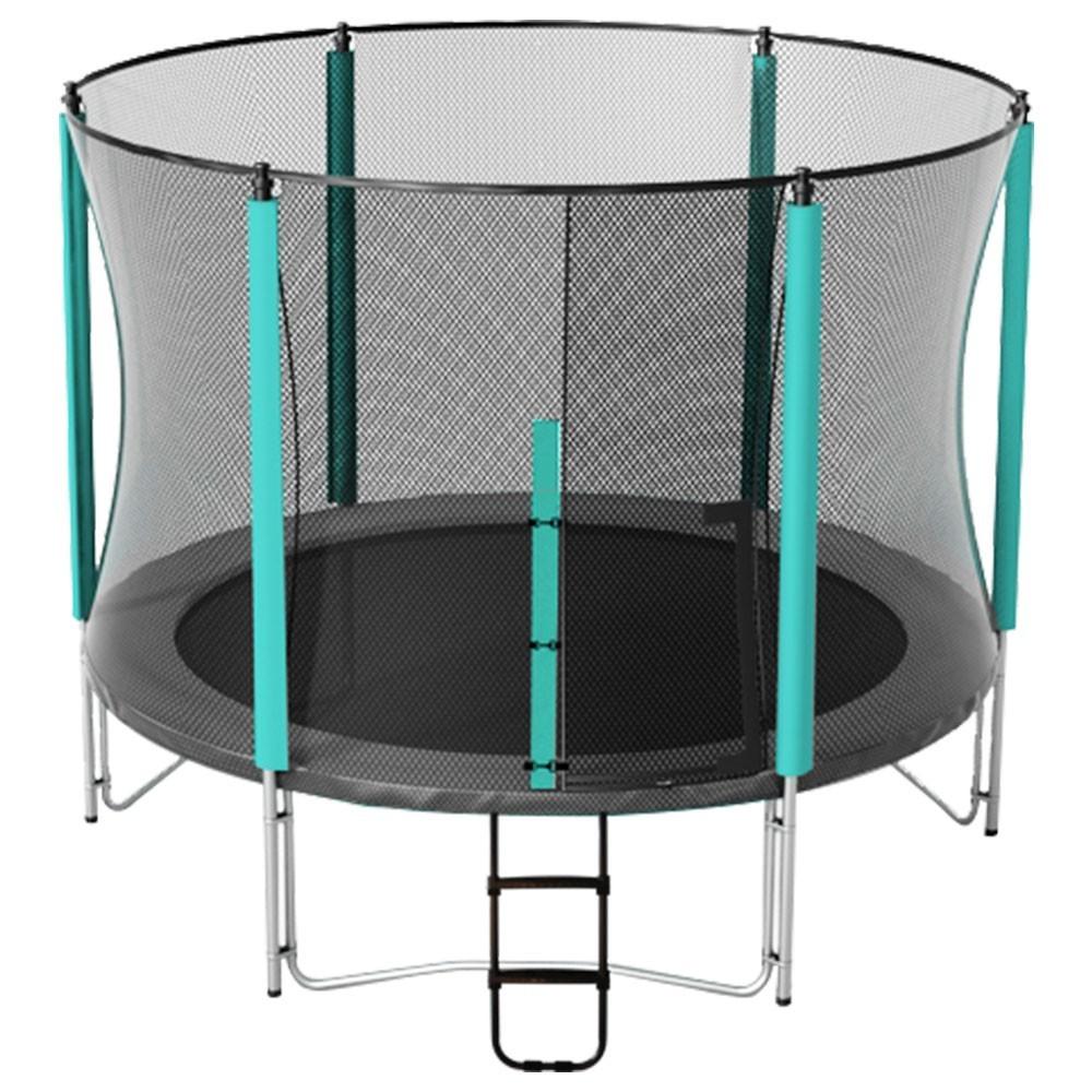 filet de protection premium pour trampoline rond de 4 90m. Black Bedroom Furniture Sets. Home Design Ideas