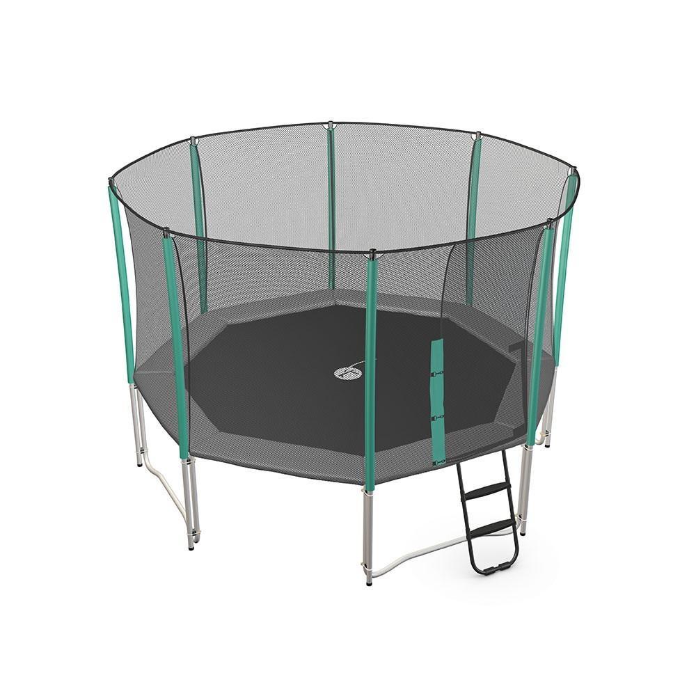 Filet de protection pour trampoline de loisir waouuh 360 - Protection trampoline ...