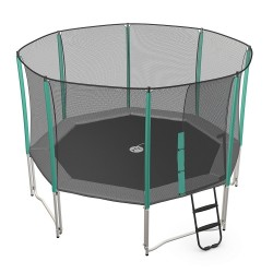 Enclosure for 15ft Waouuh 460 trampoline