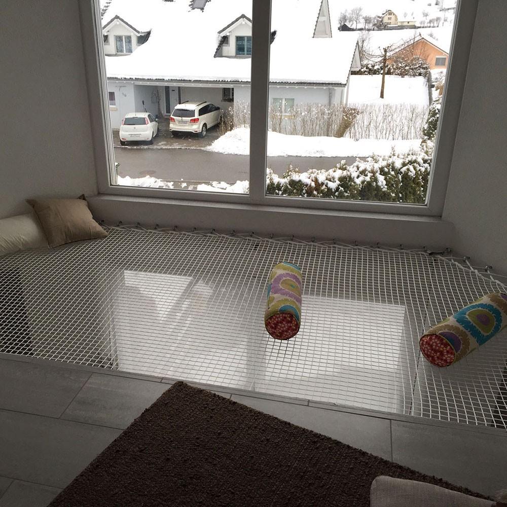 Hammock floor - an original relaxation space
