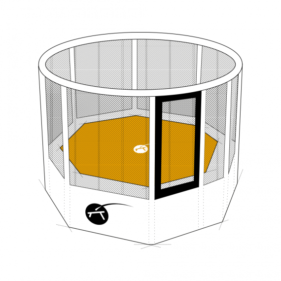 Toile de saut sur-mesure pour trampoline professionnel