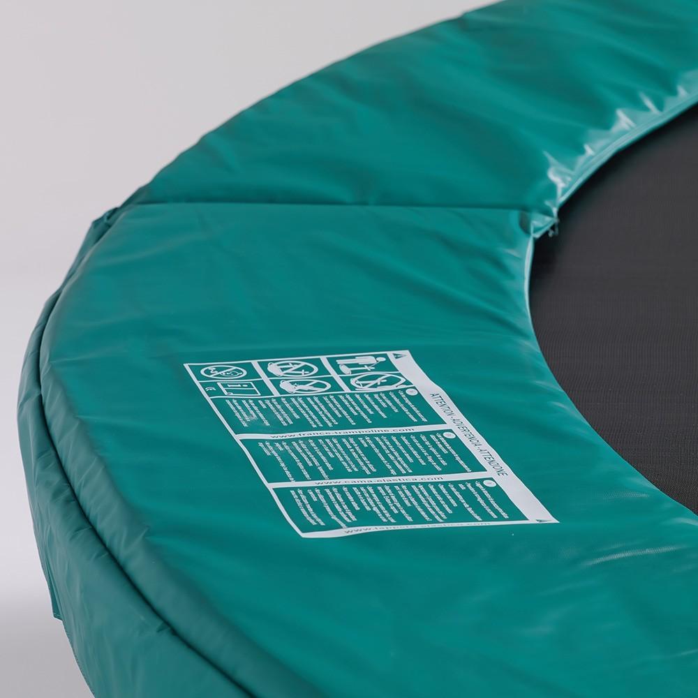 trampoline jump 39 up 250 avec filet de protection. Black Bedroom Furniture Sets. Home Design Ideas