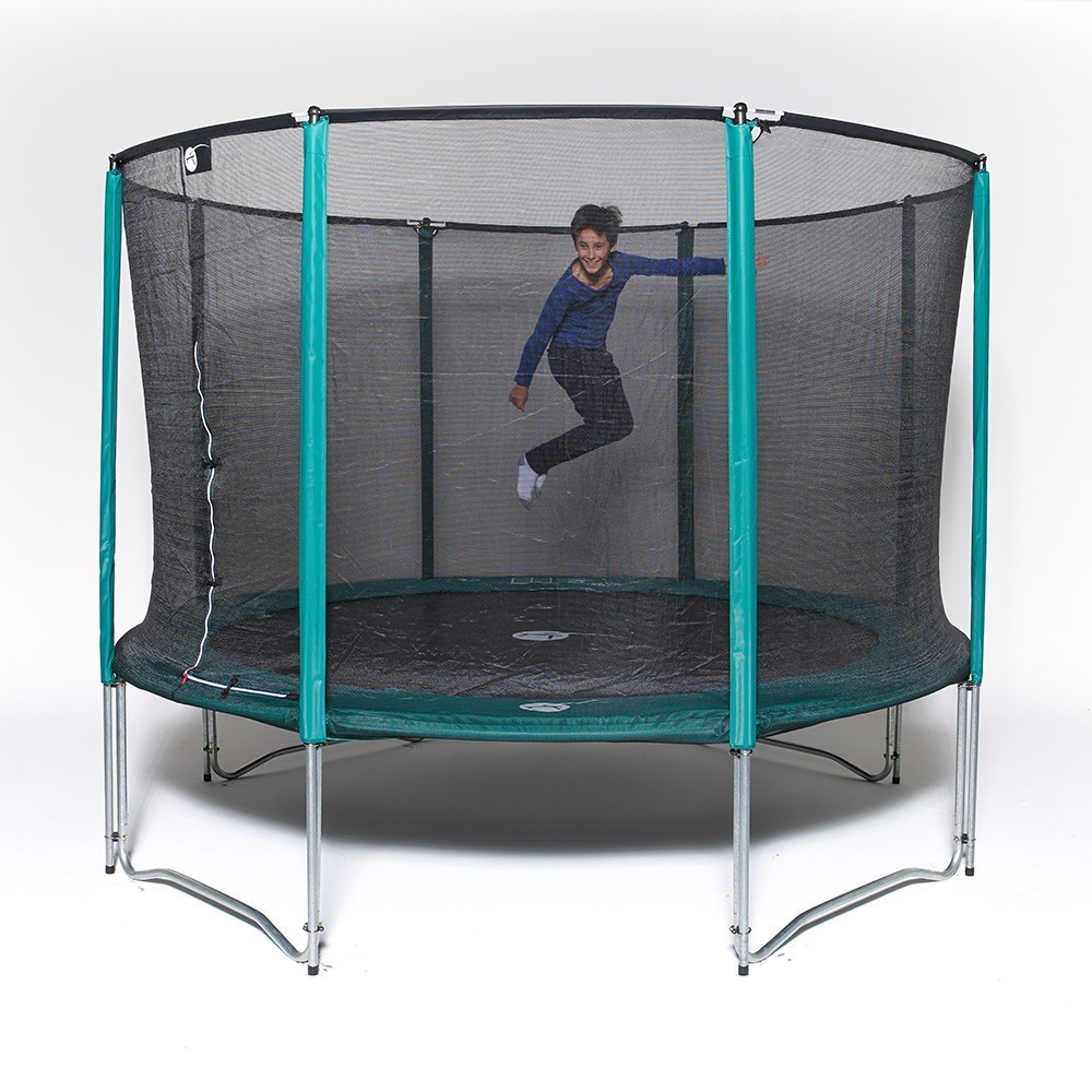 trampoline de loisirs jump up 360 avec filet de protection. Black Bedroom Furniture Sets. Home Design Ideas