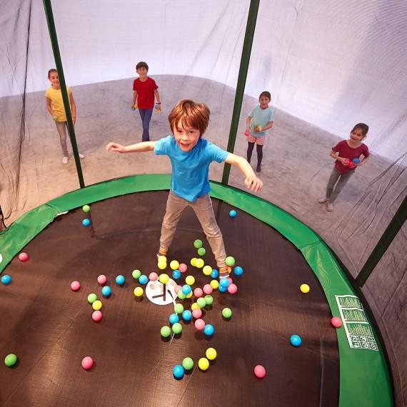 Balles pour piscine multicolores