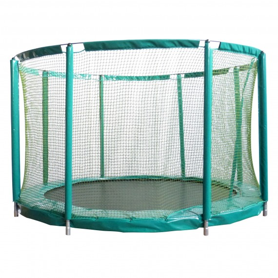 Enclosure for in ground 14ft Mirage 430 trampoline