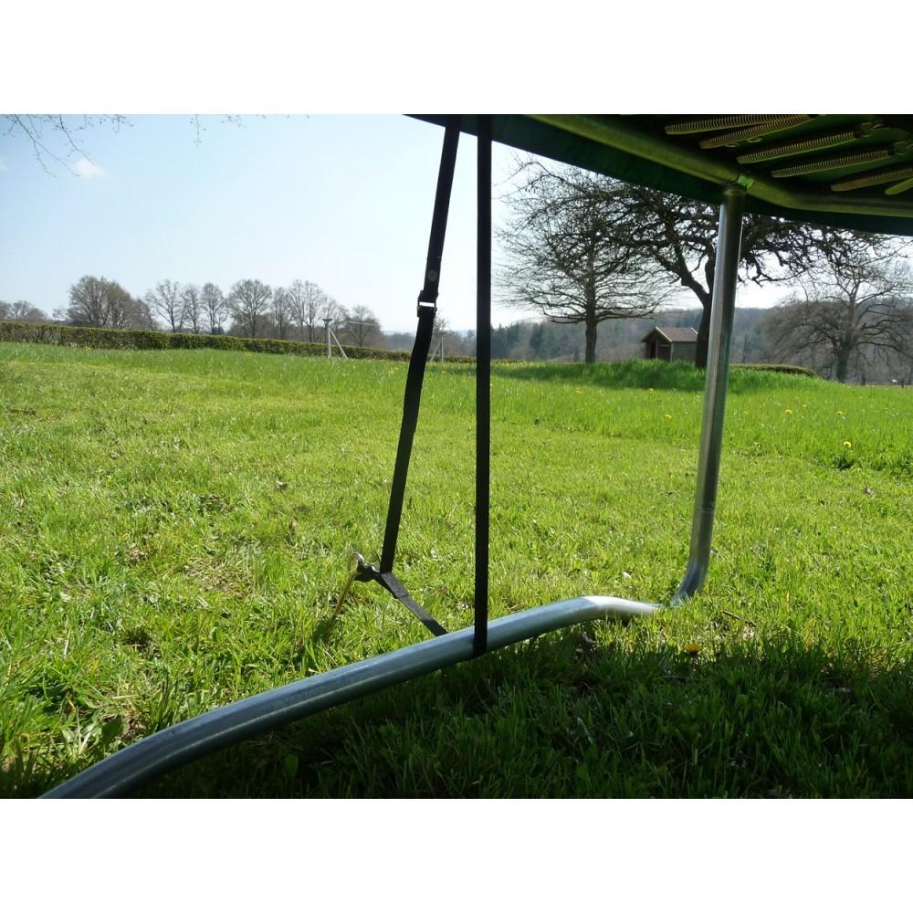 kit de fixation au sol pour trampoline de jardin. Black Bedroom Furniture Sets. Home Design Ideas