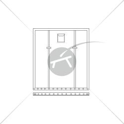 Trampoline pour catamaran SL 15.5 (1 pièce)