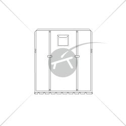 Trampoline pour catamaran Topaz 12 (1 pièce)