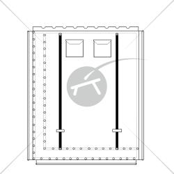 Trampoline pour catamaran Prindle 19 (1 pièce)