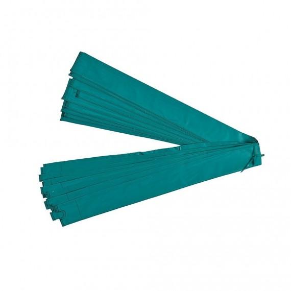 Manchon vert Ø32 mm pour filet avec arc fibre de verre