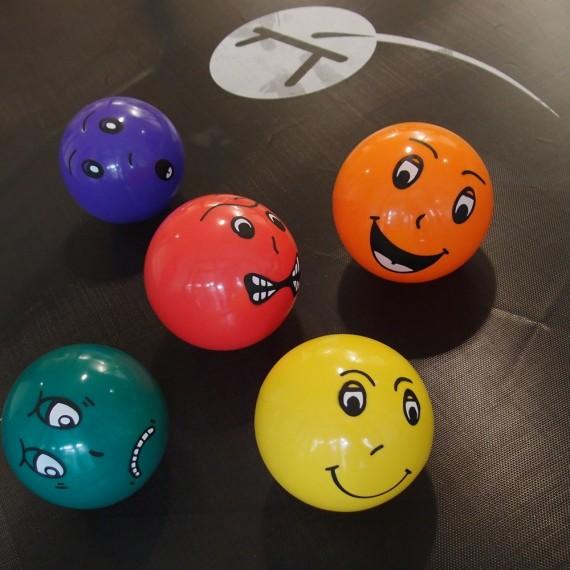 Funny face ball