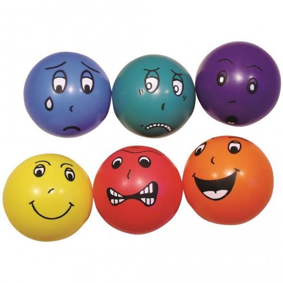 Funny face balls