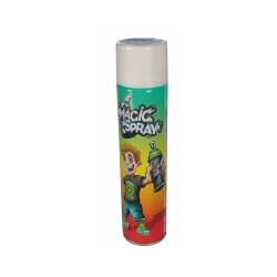 White chalk spray