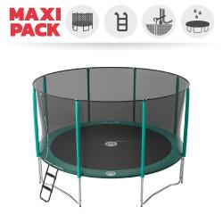 Maxi Pack Jump'Up 430 avec Filet + Échelle + Kit d'ancrage + Housse Premium
