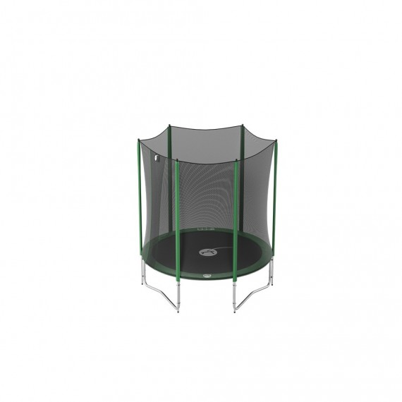 6ft Access 180 trampoline with enclosure