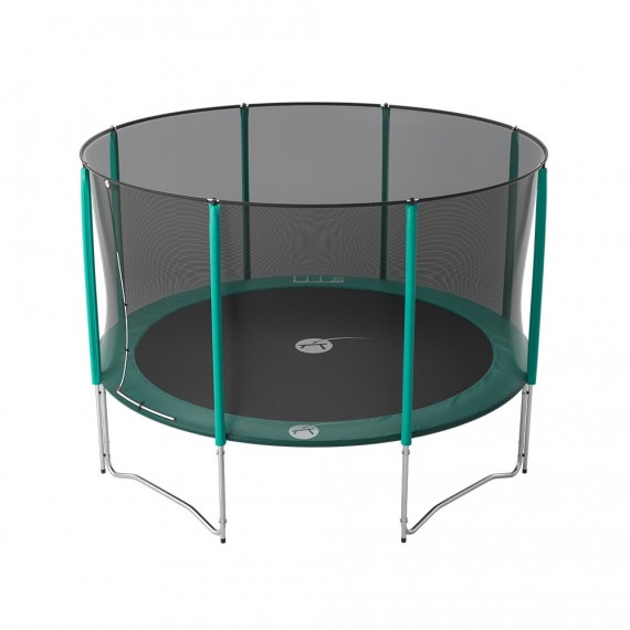13ft Jump'Up 390 trampoline with safety enclosure