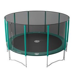 Fixation des ressorts sur l'armature et la toile de saut trampoline Jump'up 460