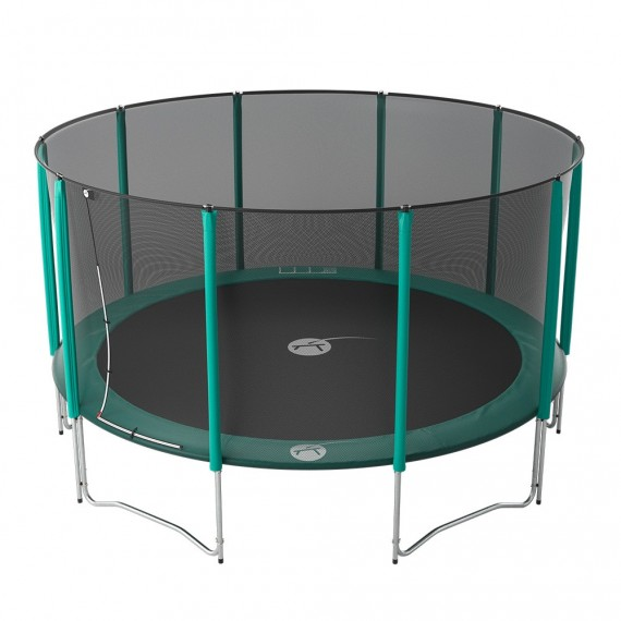15ft Jump'Up 460 trampoline with safety enclosure