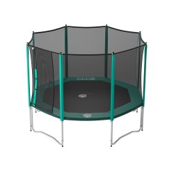 12ft Waouuh 360 trampoline with safety enclosure