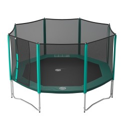 15ft Waouuh 460 trampoline with safety enclosure