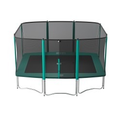 Trampoline Apollo Sport 400 avec filet Premium