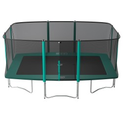 Apollo Sport 500 trampoline with safety enclosure