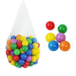 Sac de 100 balles de piscine multicolores