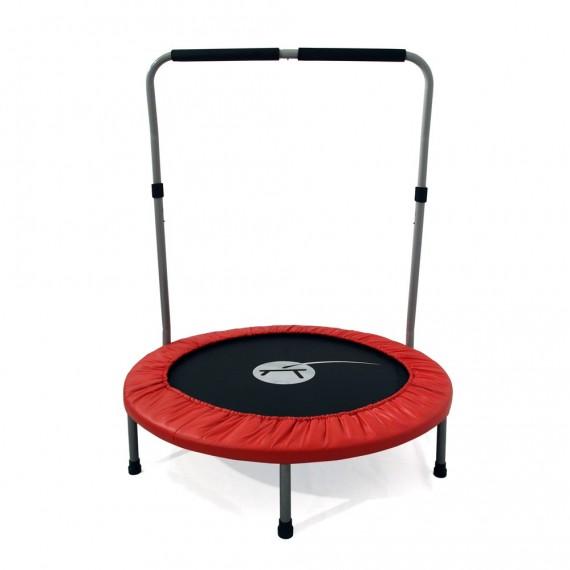 Trampoline de fitness Minimax avec barre de maintien