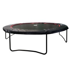 13ft Black Booster 390 trampoline