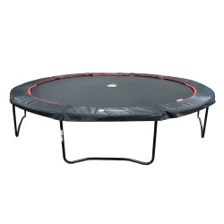 14ft Black Booster 430 trampoline