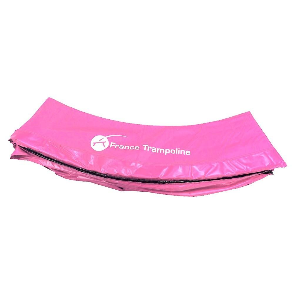 coussin de protection rose pour trampoline rond. Black Bedroom Furniture Sets. Home Design Ideas