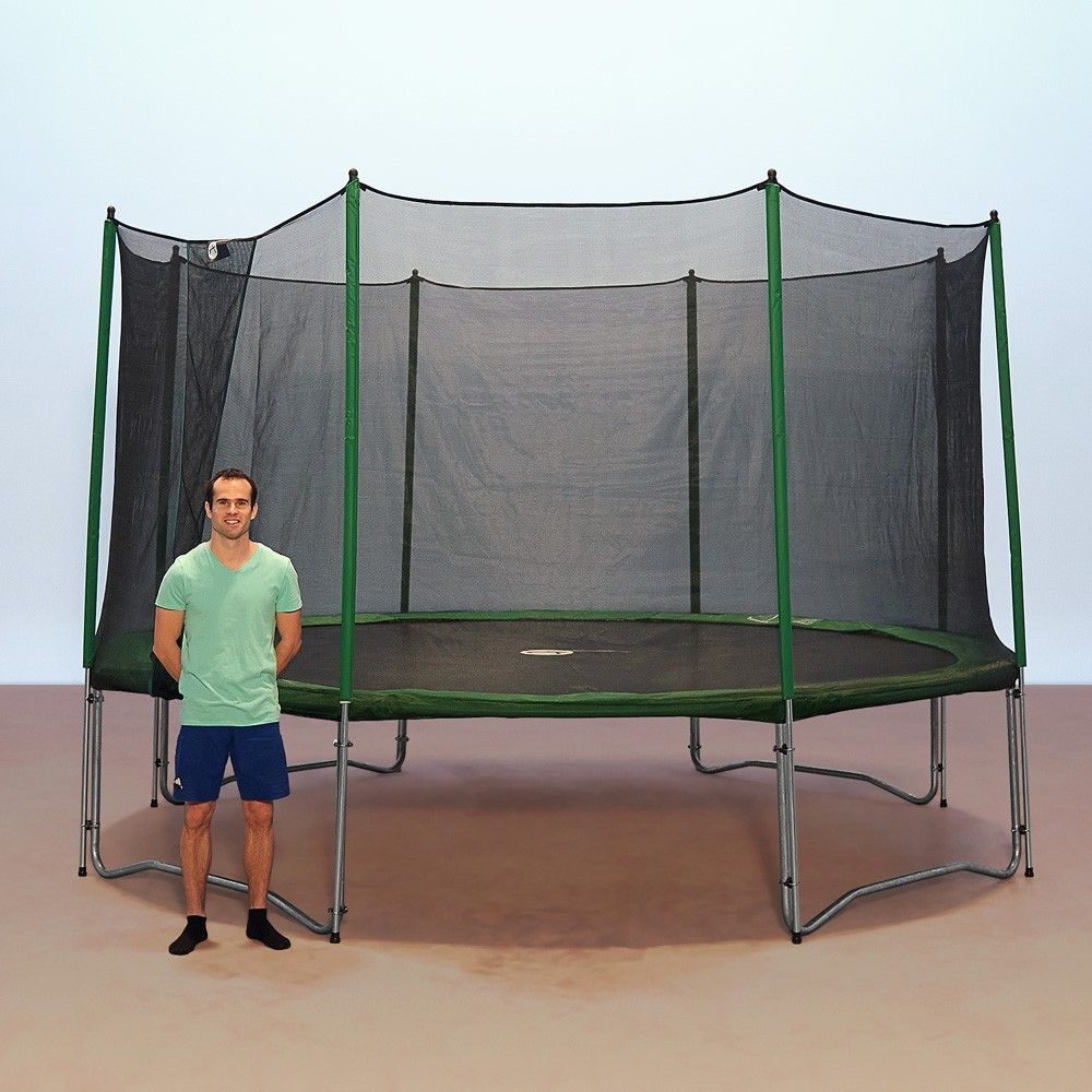 basic pack 12ft access trampoline with enclosure ladder. Black Bedroom Furniture Sets. Home Design Ideas