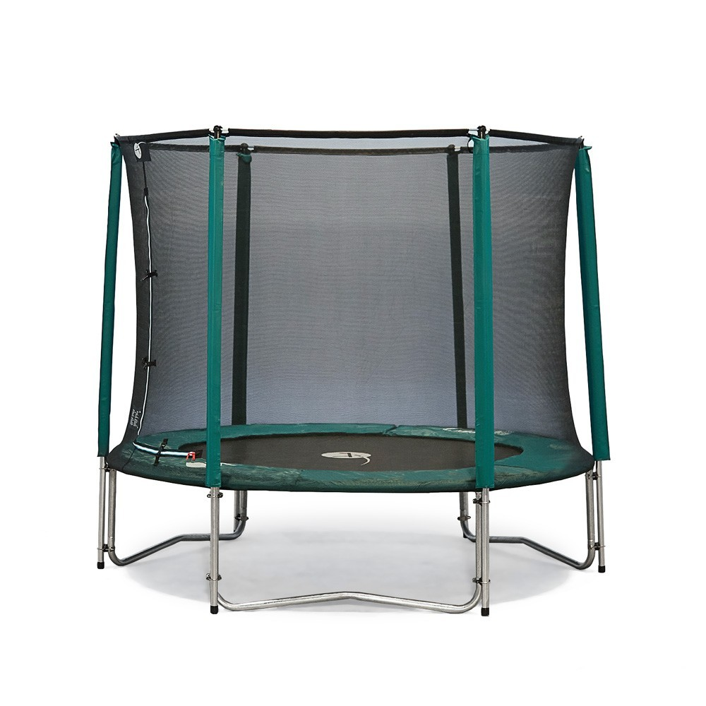 trampoline jump 39 up 250 avec filet de protection. Black Bedroom Furniture Sets. Home Design Ideas