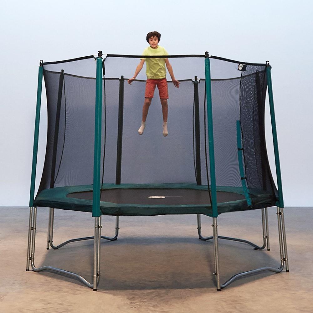 france trampoline 12ft jump up 360 trampoline with safety enclosure 16ft ovalie 490 trampoline. Black Bedroom Furniture Sets. Home Design Ideas