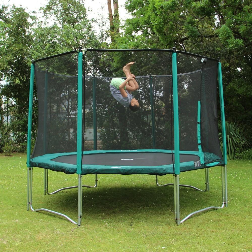 meilleur trampoline avec filet free trampoline de jardin rond cm filet de protection pgase with. Black Bedroom Furniture Sets. Home Design Ideas