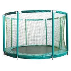 Trampoline enterré Mirage 430 + Filet de protection