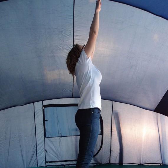 tente igloo pour trampoline 460. Black Bedroom Furniture Sets. Home Design Ideas