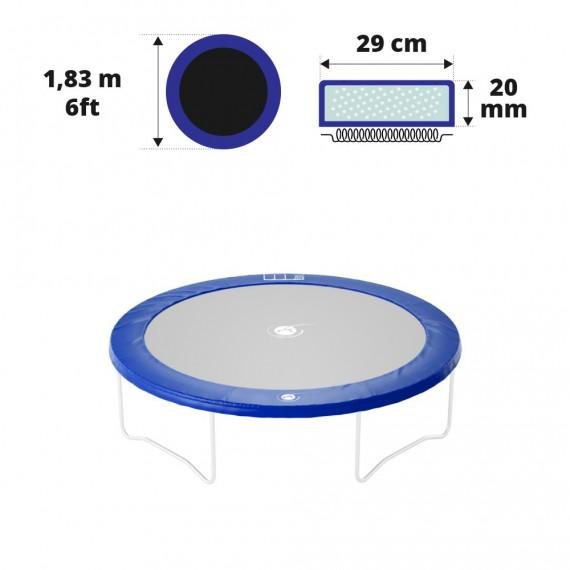 6ft blue frame pad