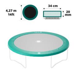 Coussin de protection 430 vert 20mm / 36cm