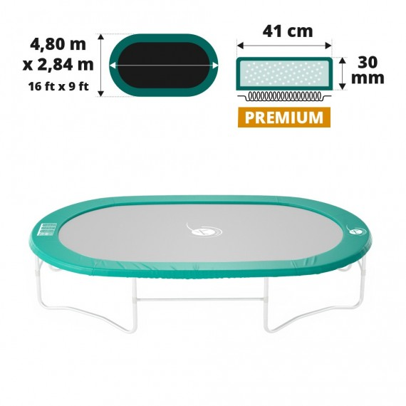 Coussin de protection Ovalie 490 Premium