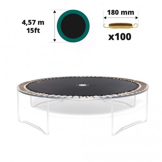 Toile de saut pour trampoline Ø 457 à 100 ressorts 180 mm