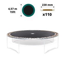 Toile de saut pour trampoline 460 à 110 ressorts 230mm