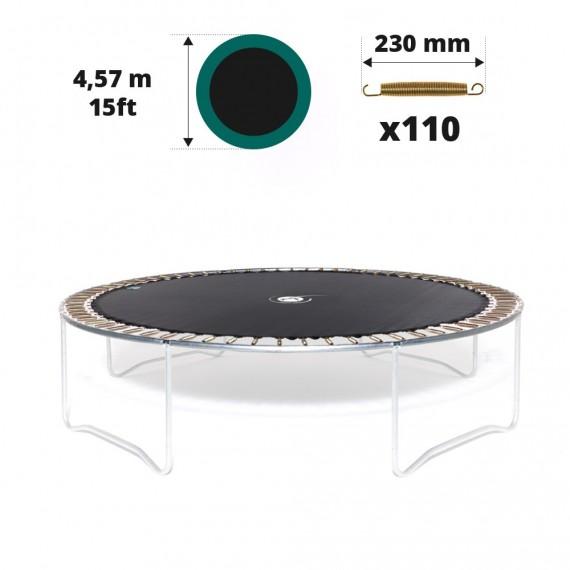 Toile de saut pour trampoline Ø 457 à 110 ressorts 230 mm