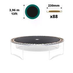 Toile de saut pour trampoline Ø 396 à 88 ressorts 230 mm